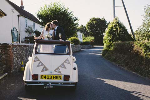 John and Ali's Wedding, Griffin Inn, Fletching, Sussex