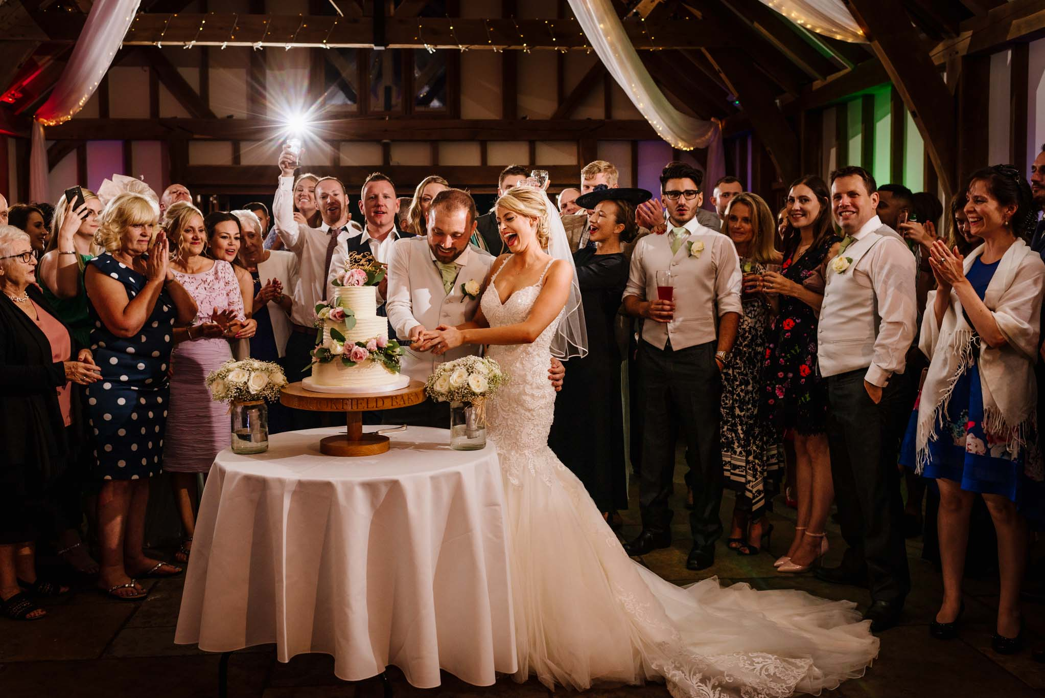 barn wedding photography sussex 370