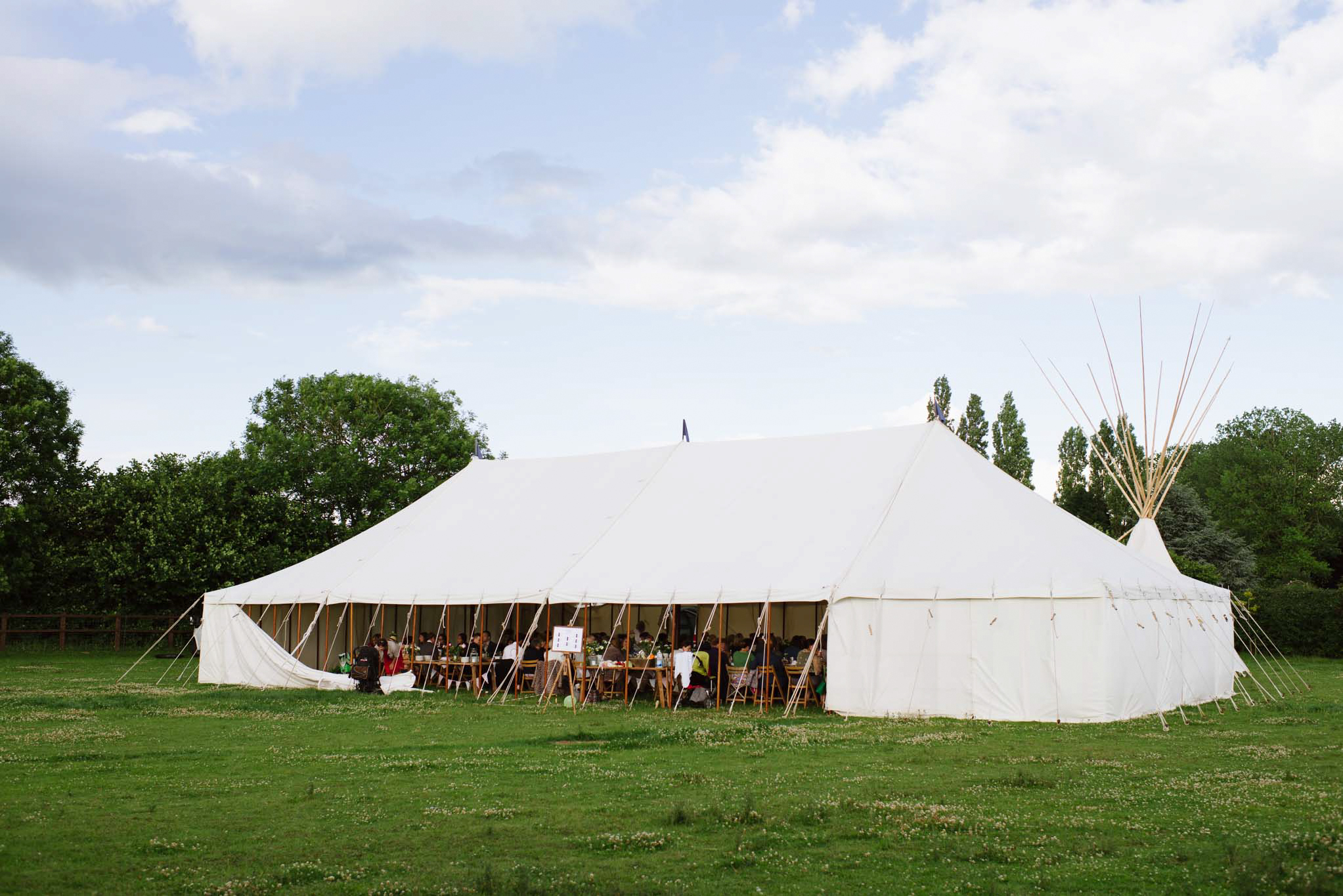 marquee wedding 13